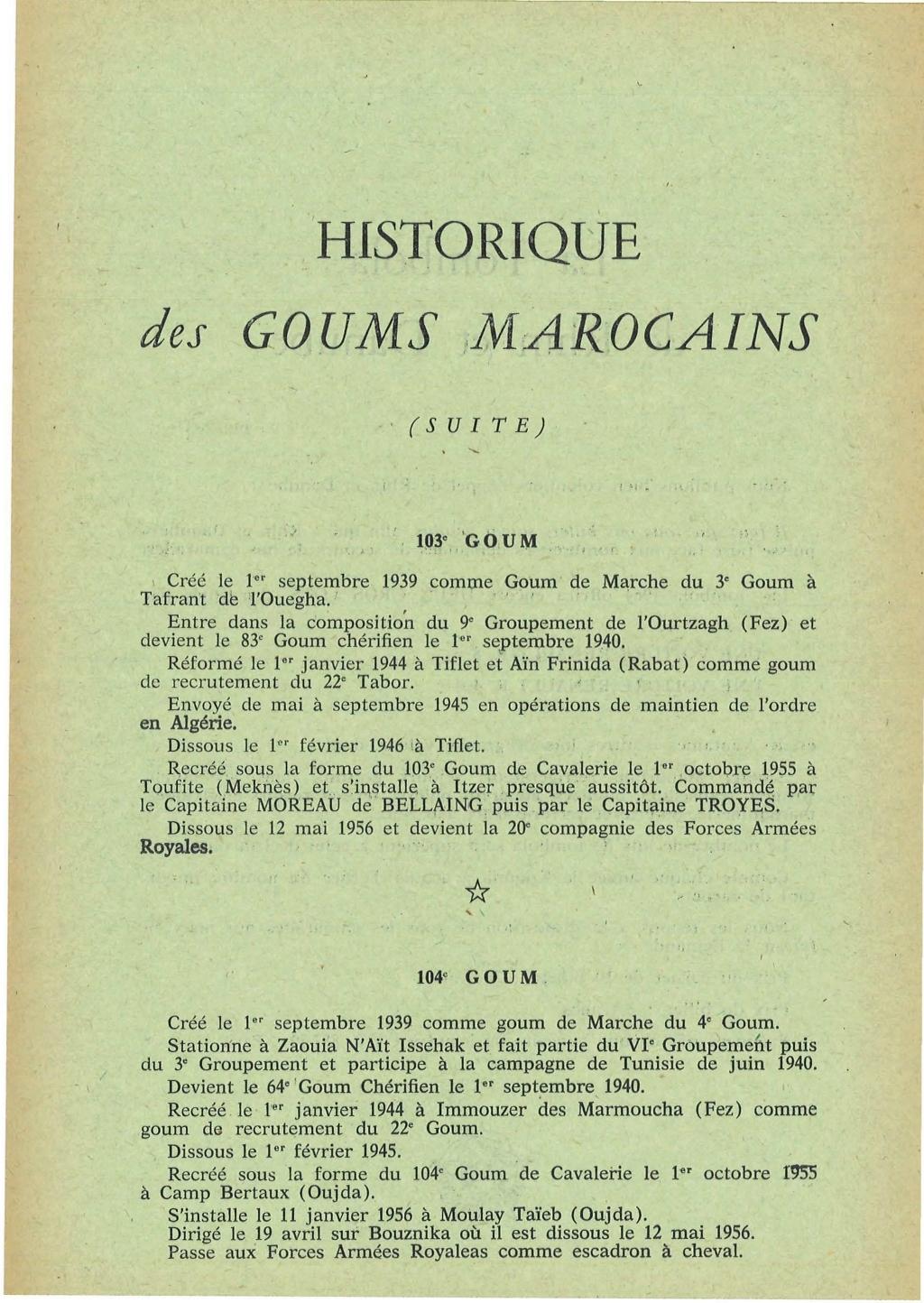 12 mai 1956 - Dissolution des Goumiers & integration aux FAR La_kou51