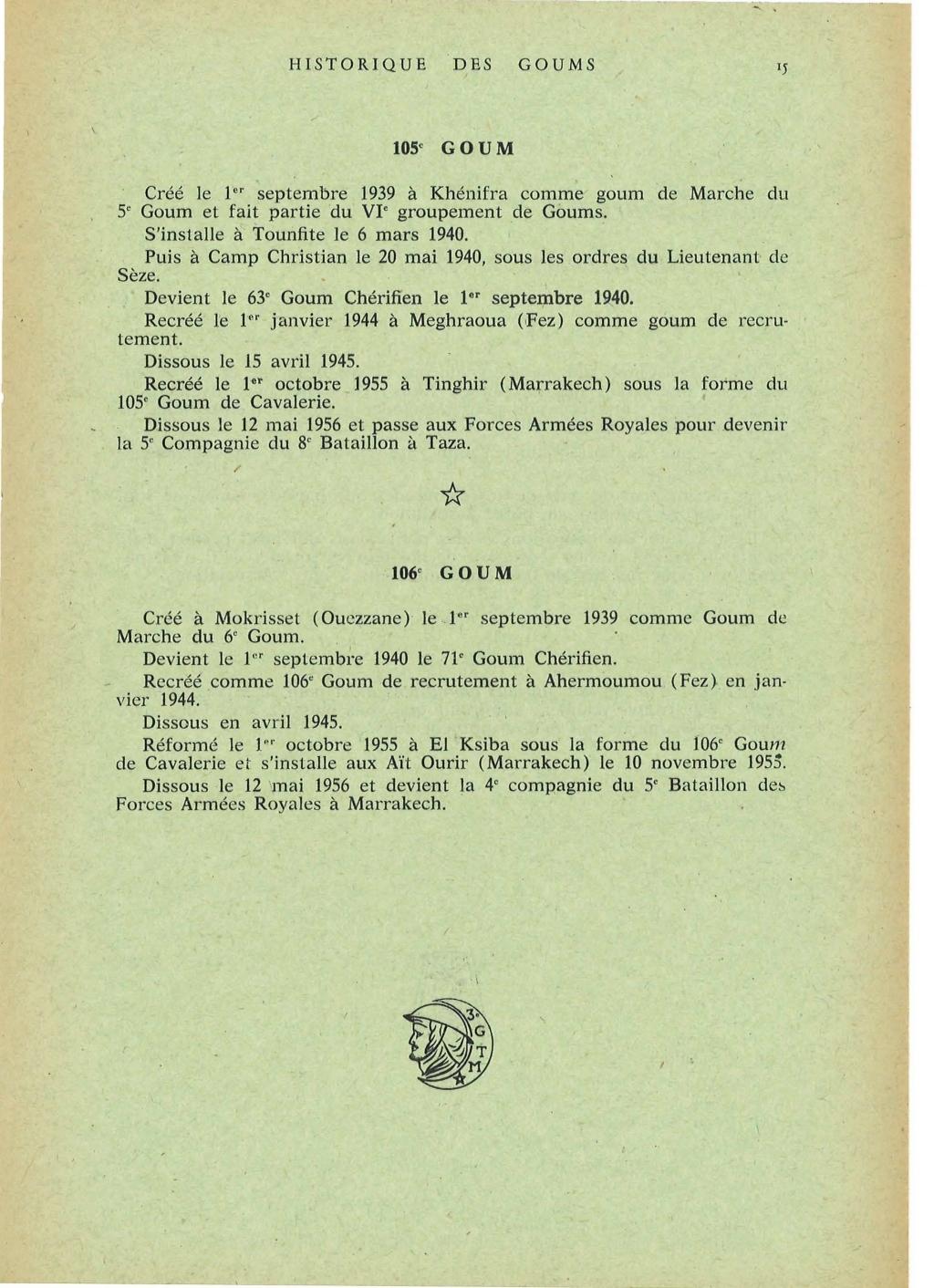12 mai 1956 - Dissolution des Goumiers & integration aux FAR La_kou52