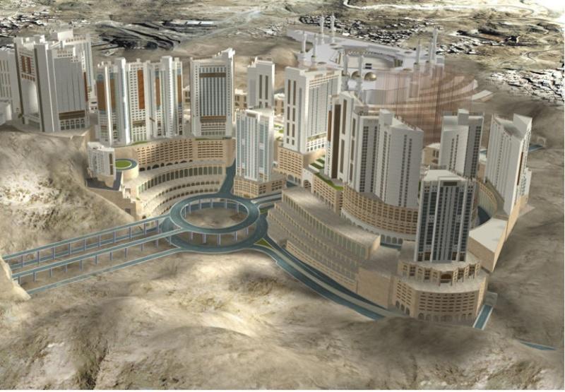 مـكـة المكرمة عام 2010 م :مشروع جبل عمر: صور Meka210