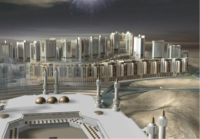 مـكـة المكرمة عام 2010 م :مشروع جبل عمر: صور Meka310