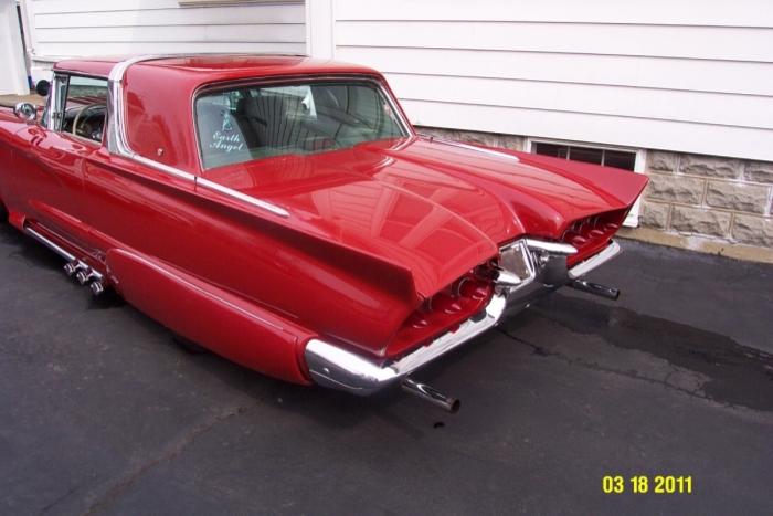 Ford Thunderbird 1958 - 1960 custom & mild custom 78651010