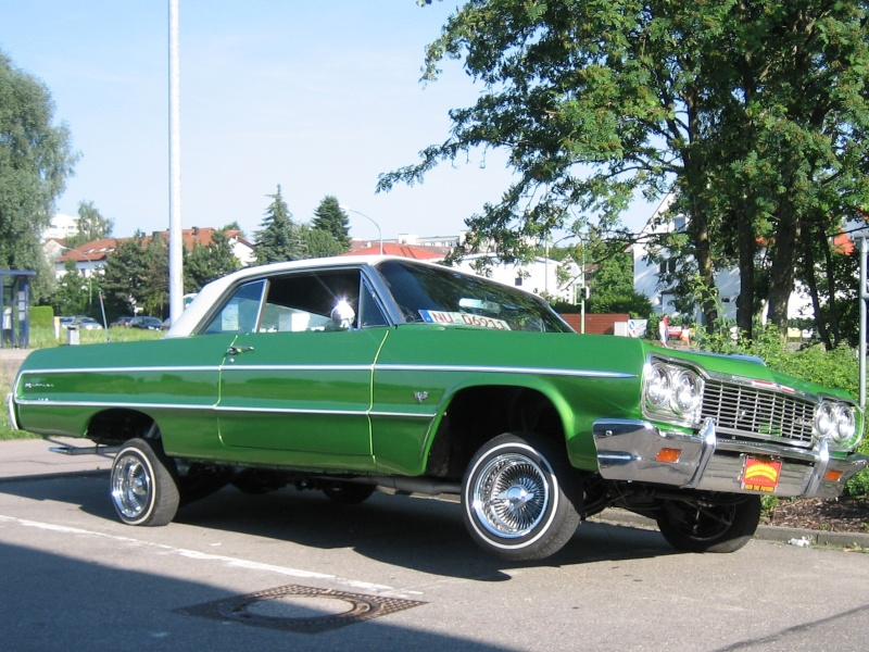 low riders sur us car 1960's et 1970's Chevro10