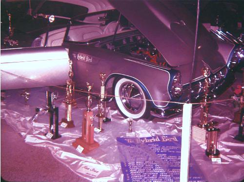 1955, '56 and '57 T-Bird custom & mild custom H54c10