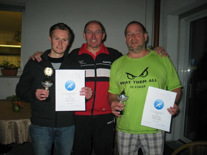 Doppel-Vereinsmeisterschaften der Badminton-Abteilung 1205-b12