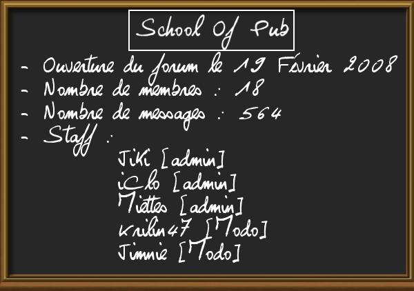 School of Pub Pub01-10