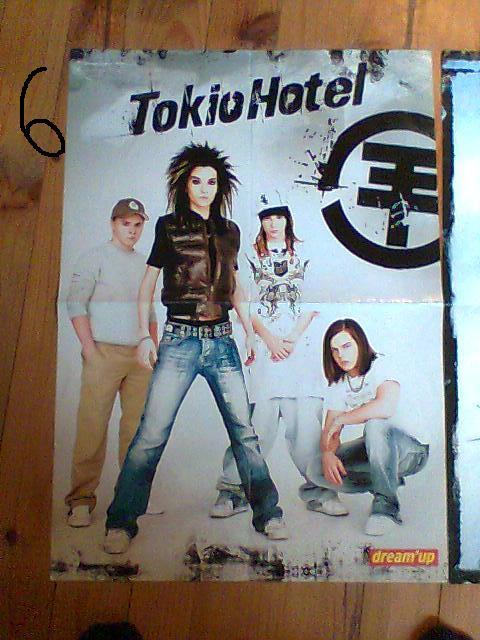 vend/echange poster et carte postal de plusieur groupe Photo036