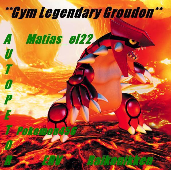 ** The Legendary Groudon **