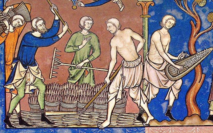 HOMME : Tenues vestimentaires civiles XIIème et XIIIème siècles Maciej11