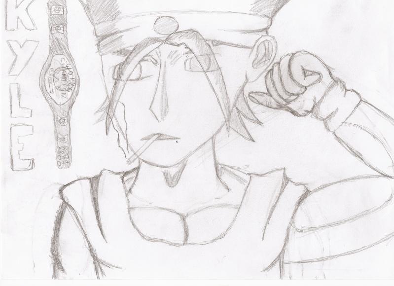 Mes dessins: azaki44 Kyle10