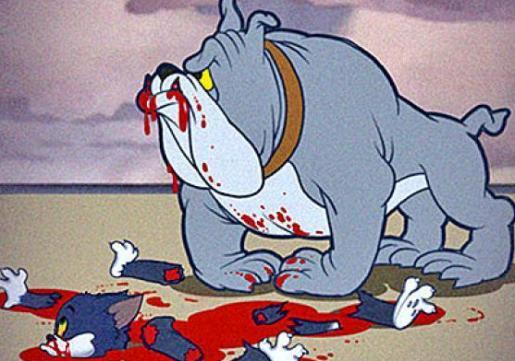 Брутално се убиени цртани јунаци 110