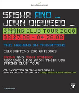 John Digweed b2b Sasha Celebran 200 episodios de TRANSITIONS Transi10