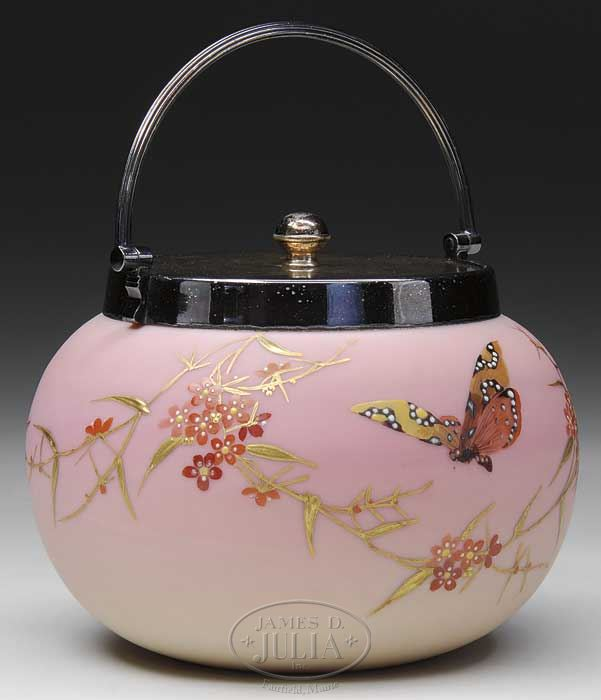 Painted Burmese with Forget Me Not and butterfly 6395910