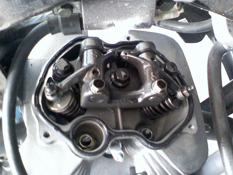 Регулювання клапанів на Zongshen 200gs 03150813