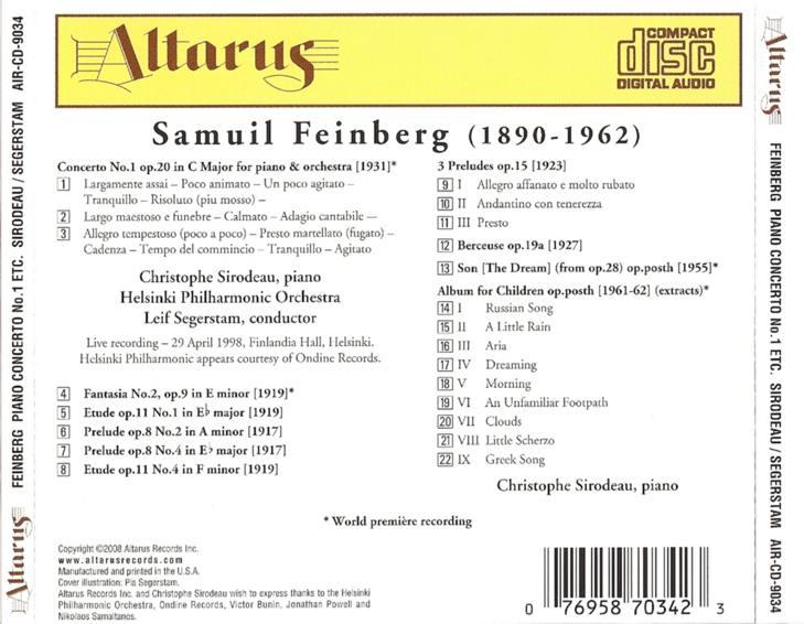 Samuil Feinberg (1890-1962) 114