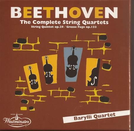 Barylli Quartett Beetho10