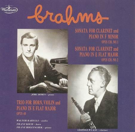 Barylli Quartett Brahms13