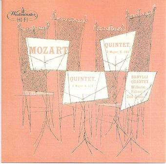 Barylli Quartett Mozart10