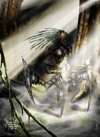 Mes univers en dessins, Comment ça c'est répétitif! Locust11