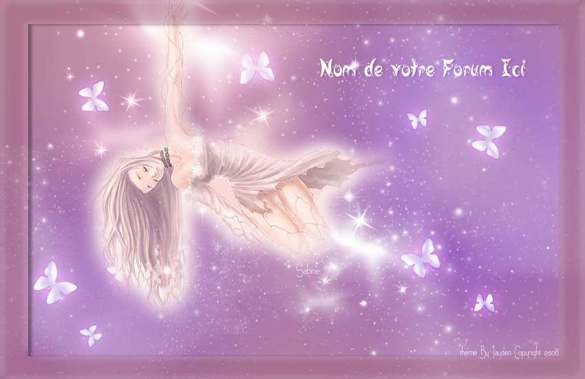 "Theme ""Papillon de lumiere""  by Sab Bannie31"