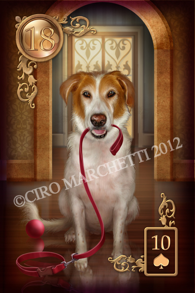 Gilded Reverie Lenormand ► Ciro Marchetti  - Page 2 Chien10