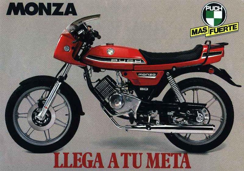 Puch Monza - Su Diseño Atemporal 0140