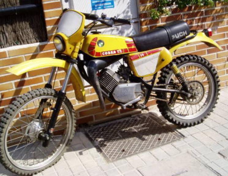 Puch Cobra TT 2ª serie - Restauración 0242