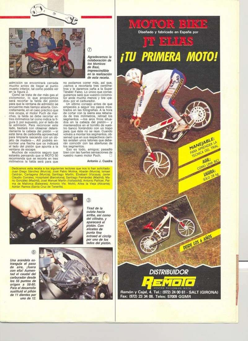 Moto 50 - Brico-Técnica Puch Condor Piaggio-Moto Vespa 0252