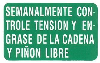 Adhesivos Puch Condor II Cadena10