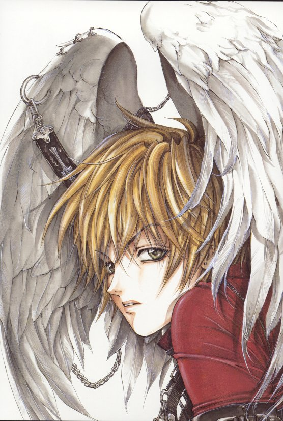 angel sanctuary art book Lost_110