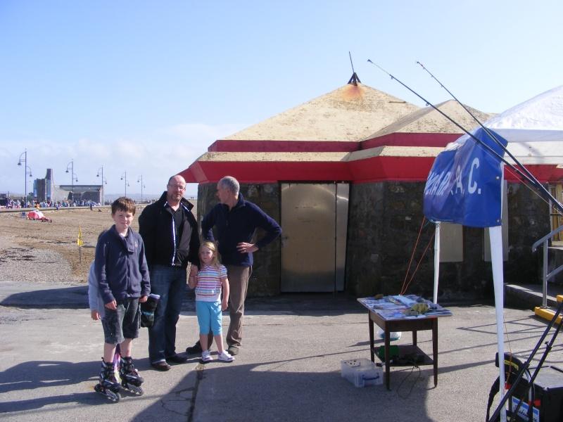 Rinnashark sac stand at Surf & Sea Festival Tramore Dscf2010