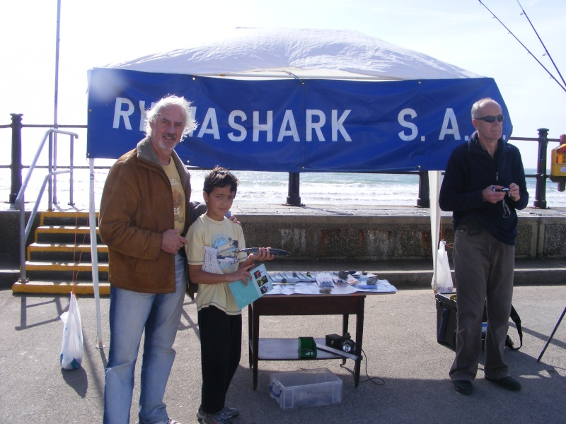 Rinnashark sac stand at Surf & Sea Festival Tramore Dscf2011