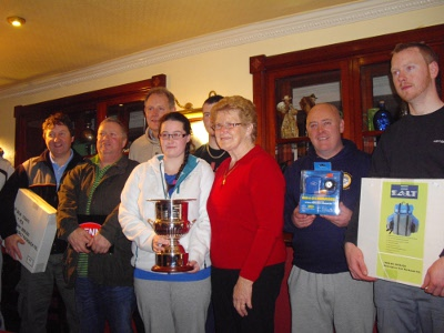 Pictures Martin Halley Perpetual cup the 1st winner Nov. 2012 Prize110