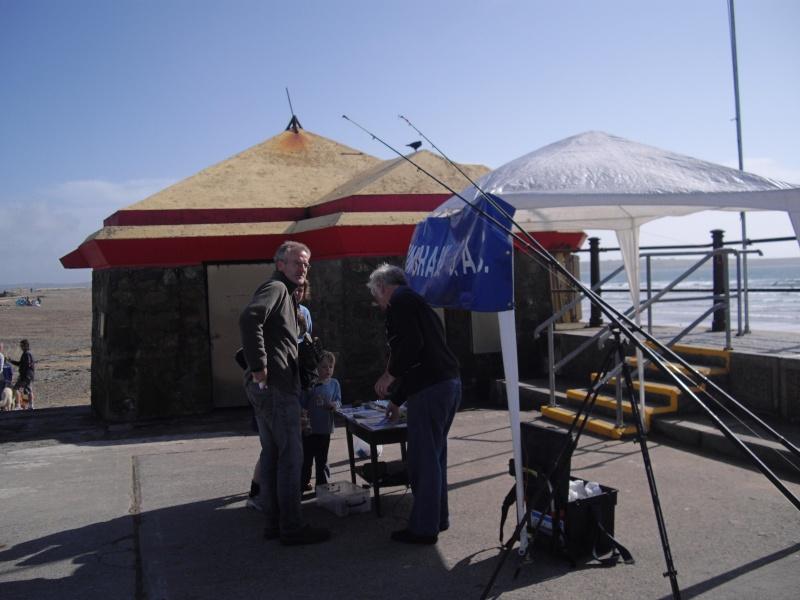 Rinnashark sac stand at Surf & Sea Festival Tramore Surf210