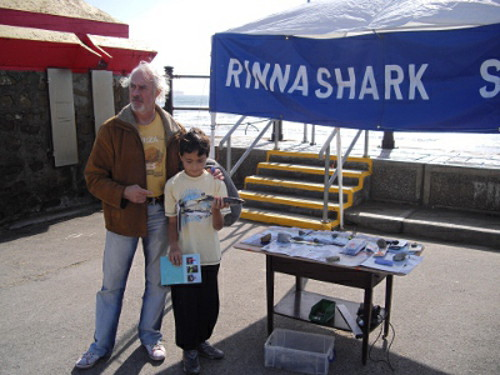 Rinnashark sac stand at Surf & Sea Festival Tramore Surf310