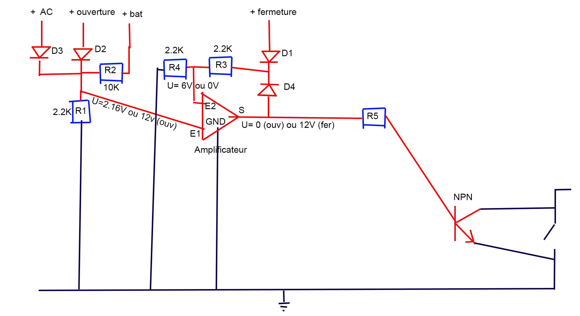 PapyKy : S4 - Fermer les rétroviseurs sur vérouillage des portes, contact coupé. Schema11