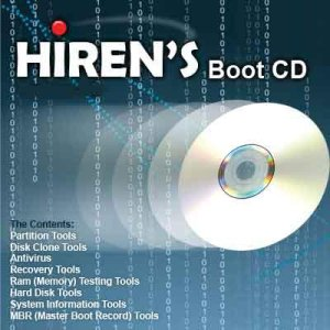Hiren's BootCD v9.6 with Keyboard Patch D32a7c10