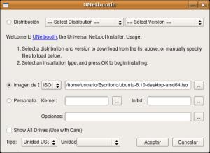 Tu distribución de Linux favorita en un pendrive, con UNetb Pantal10