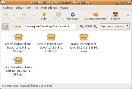 Instalar el cliente de Oracle en Ubuntu Edgy Untitl20