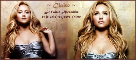 Mes créations Claire22