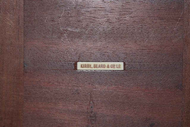 Pendulette KIRBY,BEARD & Co LTD Pendul15