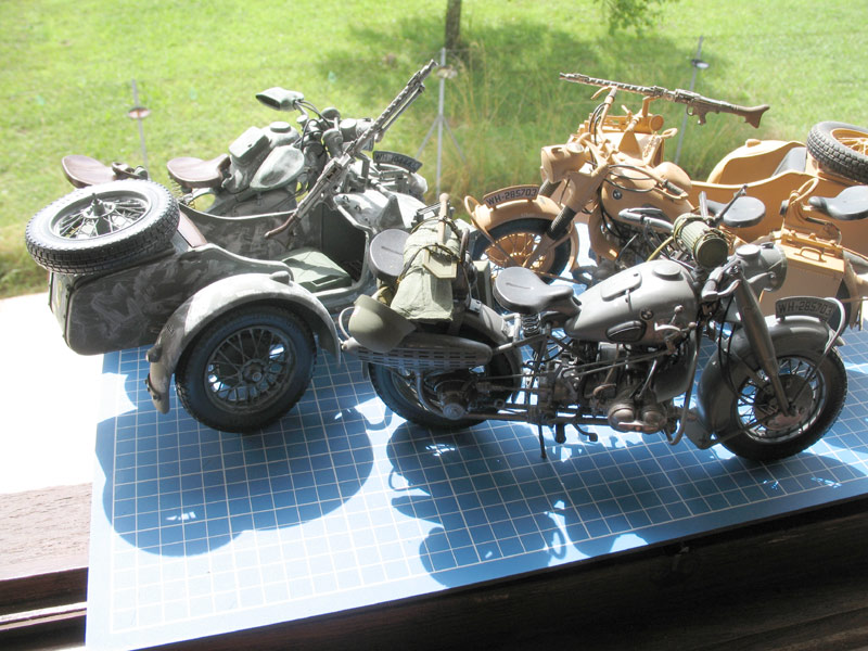 MOTOS 1/9 WW2 Ensemb14