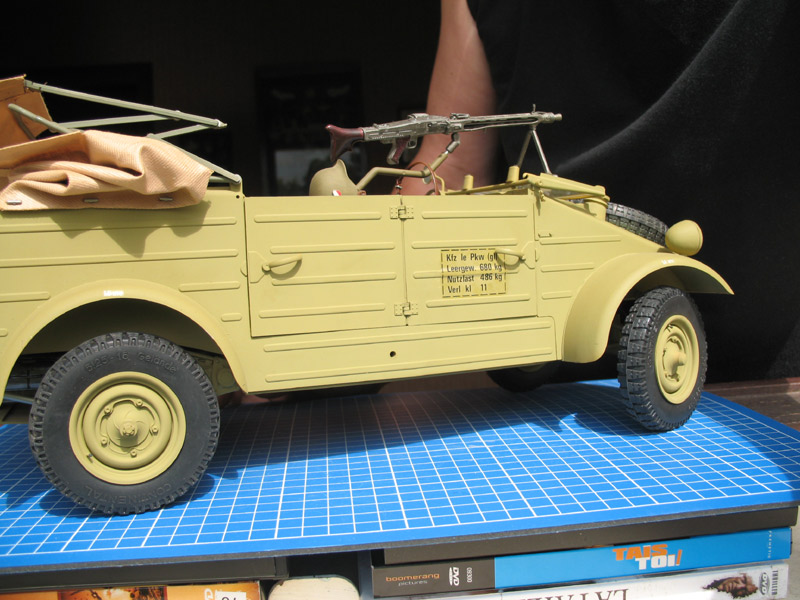MOTOS 1/9 WW2 Kubel212