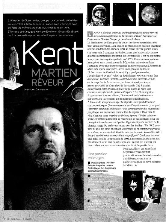 Livre-disque de Kent : l'homme de Mars Ce45610