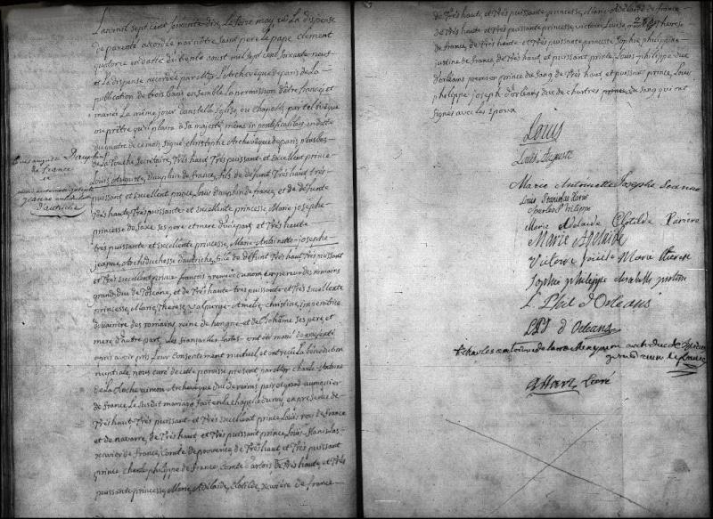 archives sur MA et Louis XVI Mariag10