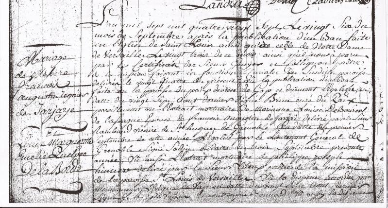 Biographie de François Augustin Reynier De Jarjayes - Page 5 Mariag11