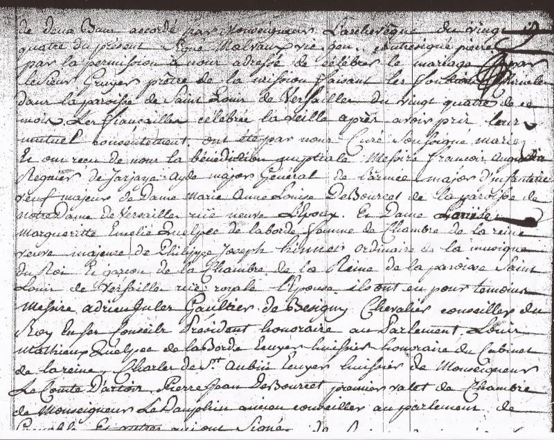 Biographie de François Augustin Reynier De Jarjayes - Page 5 Mariag12