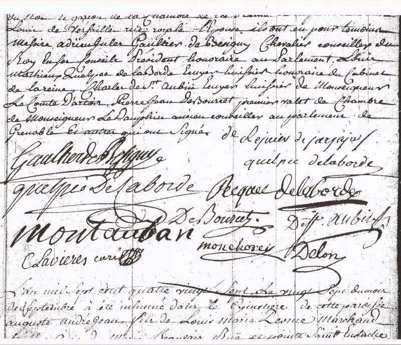 Biographie de François Augustin Reynier De Jarjayes - Page 5 Mariag13