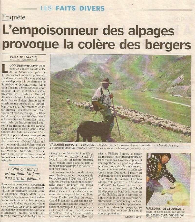 Un empoisonneur de chiens en Savoie Poison10