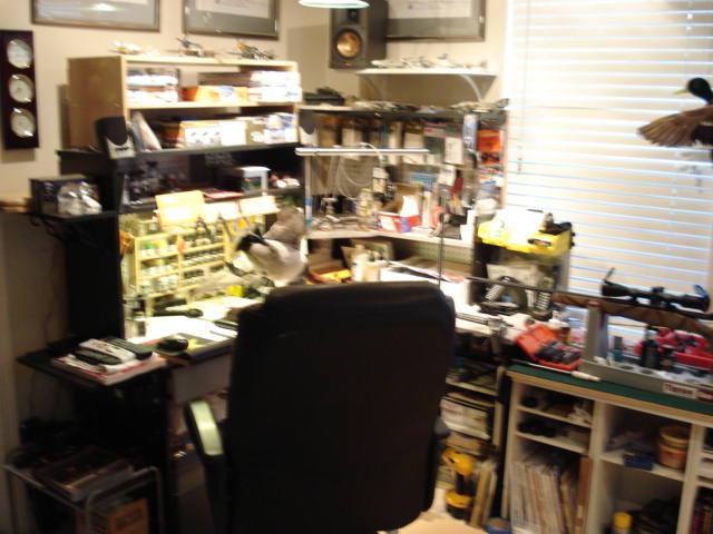 My Basement Office at Home Hobbyr10