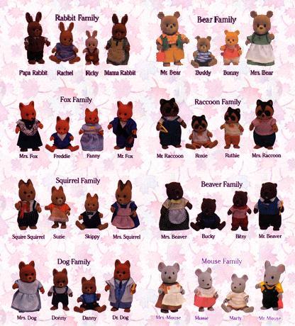 Les petits malins / MAPLE TOWN (Bandai) 1986 Famill10